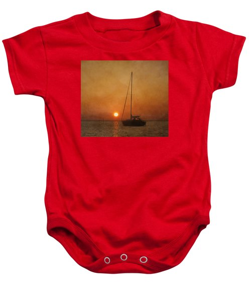 A Ship In The Night Baby Onesie