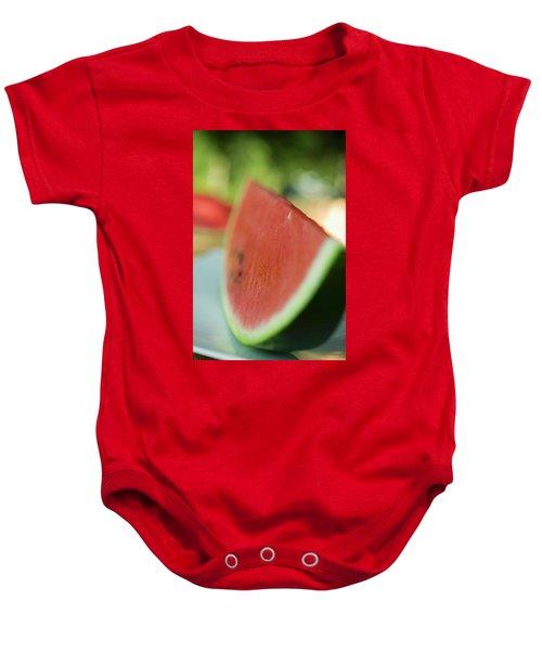 A Slice Of Watermelon Baby Onesie