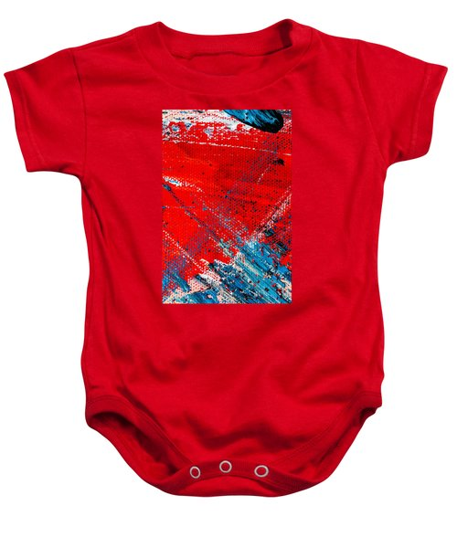 Abstract Original Artwork One Hundred Phoenixes Untitled Number Five Baby Onesie