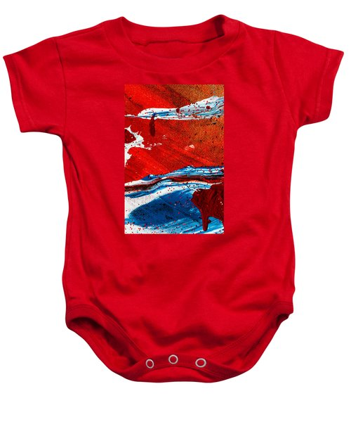 Abstract Original Artwork One Hundred Phoenixes Untitled Number Three Baby Onesie