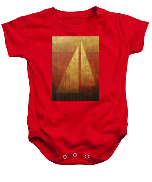 Abstract Sail Baby Onesie