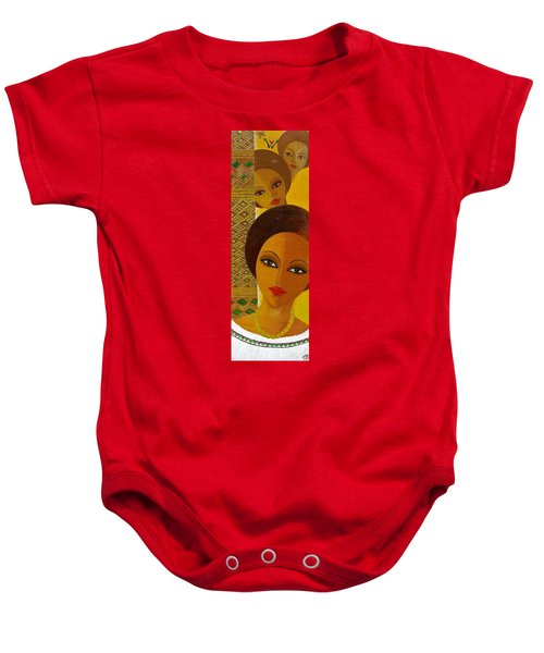 Afro Beauty Baby Onesie