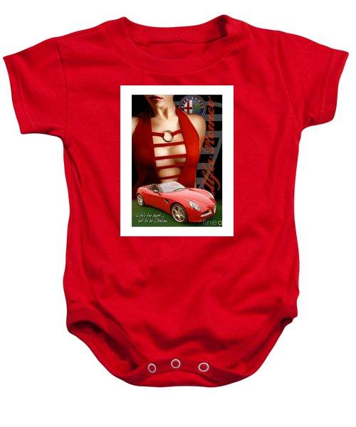 Alfa Romeo Dress Baby Onesie
