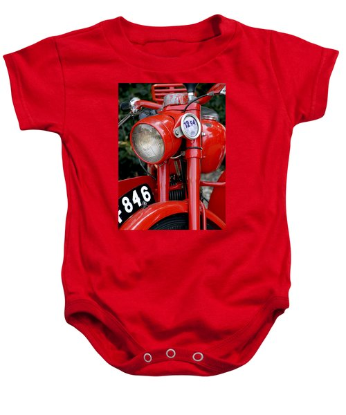 All Original English Motorcycle Baby Onesie