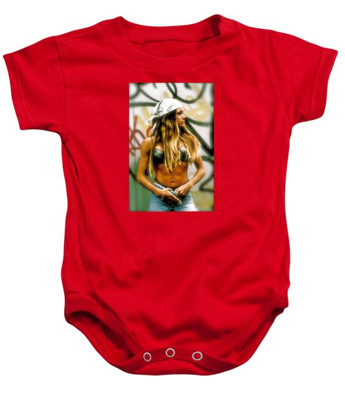 American Grunge  Baby Onesie