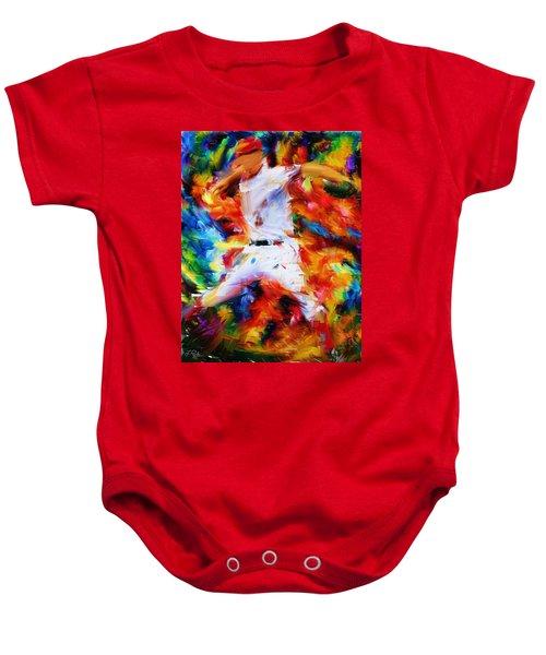 Baseball  I Baby Onesie