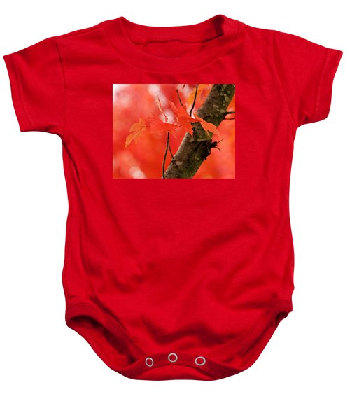 Beauty Of Red Baby Onesie