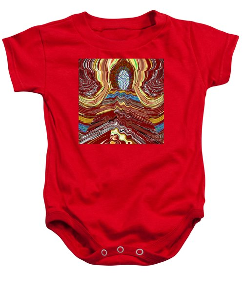 Bridge To Holy Grail Of Mystical Energies Whimisical Abstract By Navinjoshi At Fineartamerica.com  Baby Onesie