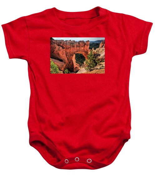 Bryce Canyon Arches Baby Onesie