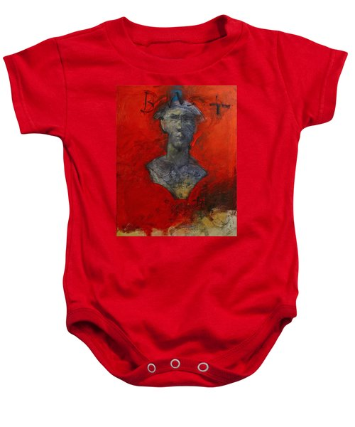 Bust Ted - With Sawdust And Tinsel  Baby Onesie