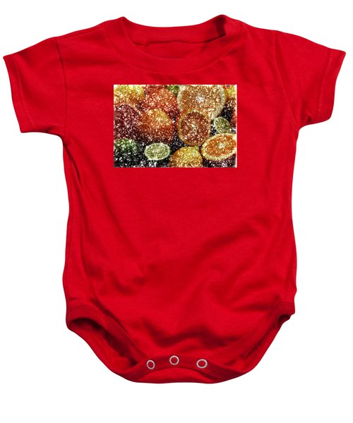 Crystal Grapefruit Baby Onesie