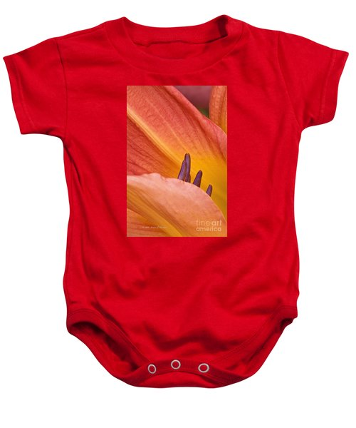 Day Lily  1 Baby Onesie
