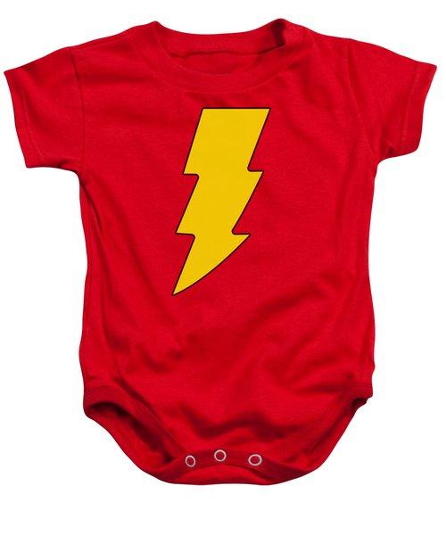 Dc - Shazam Logo Baby Onesie