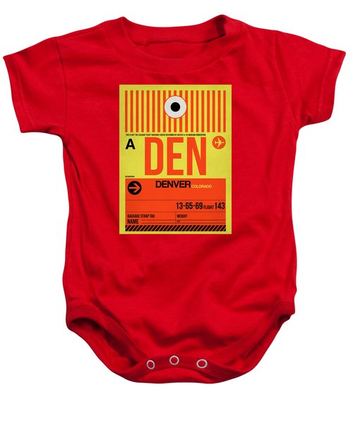 Denver Airport Poster 3 Baby Onesie