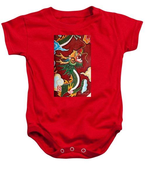 Door Dragon 02 Baby Onesie