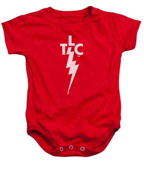 Elvis - Tlc Logo Baby Onesie by Brand A