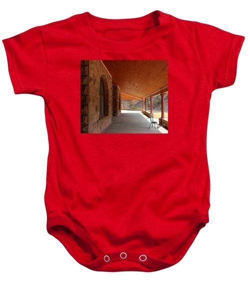 Evans Porch Baby Onesie