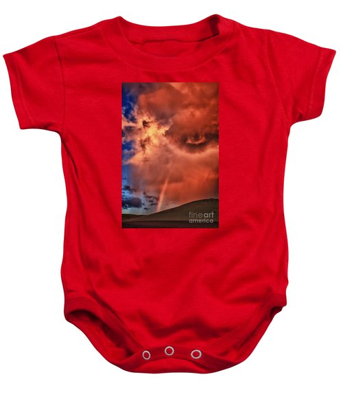 Eye Of The Storm Baby Onesie