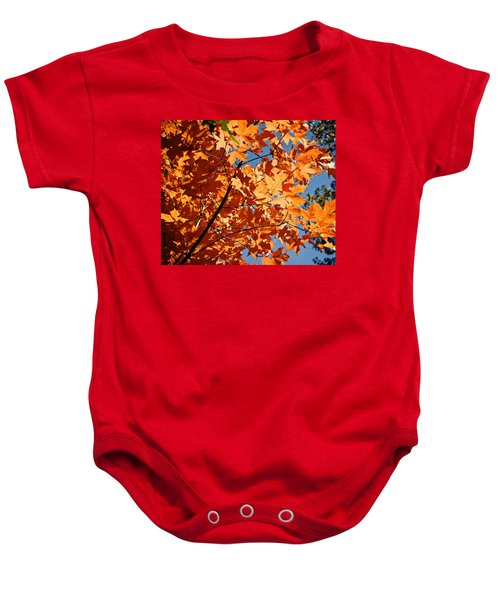 Baby Onesie featuring the photograph Fall Colors 2 by Shane Kelly