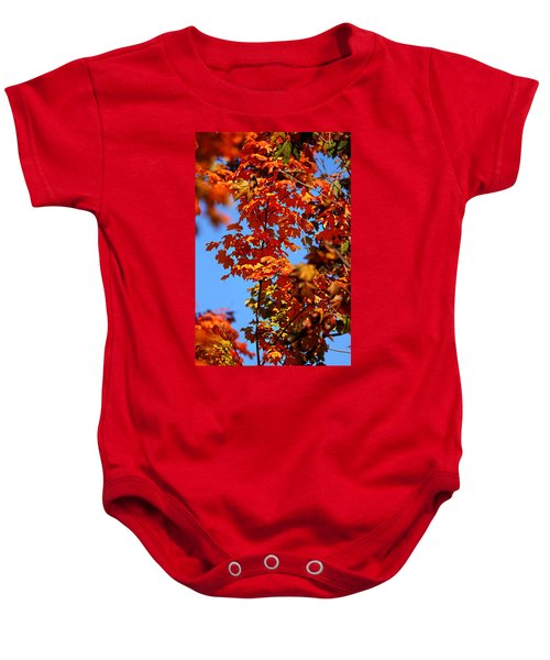 Fall Foliage Colors 15 Baby Onesie