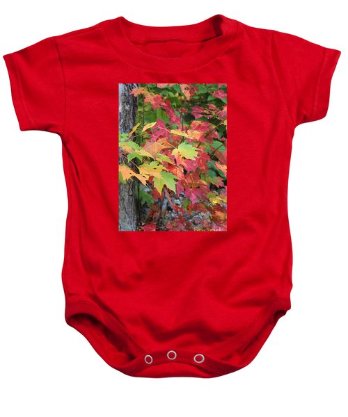 Fall Is Here Baby Onesie