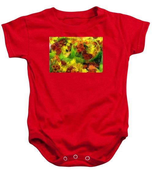 Flower Carnival Baby Onesie