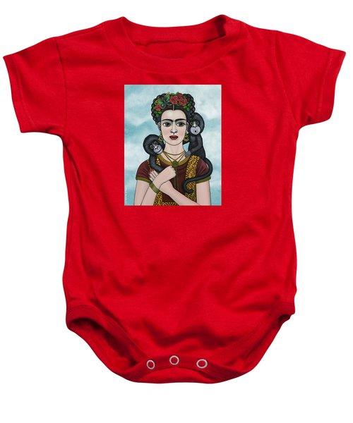Frida In The Sky Baby Onesie