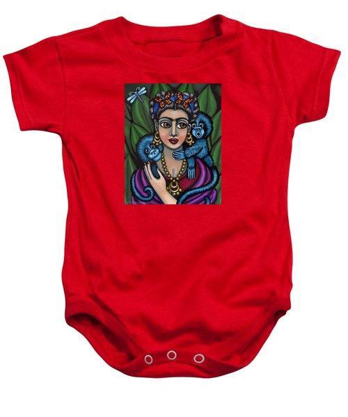 Frida's Monkeys Baby Onesie