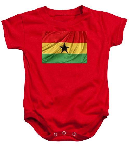 Ghana Flag Baby Onesie