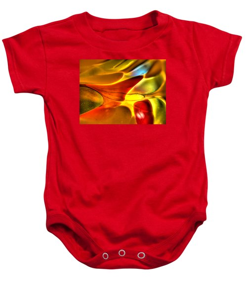 Glass And Light Baby Onesie