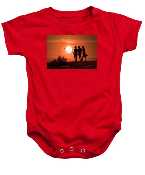 Going Fishing Baby Onesie