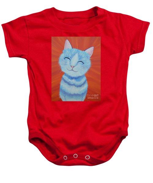 Happy Cat Baby Onesie