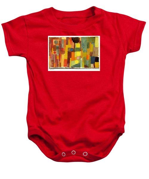 In The Style Of Kairouan Baby Onesie
