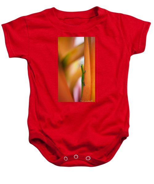 Island Friend Baby Onesie by Mike Reid