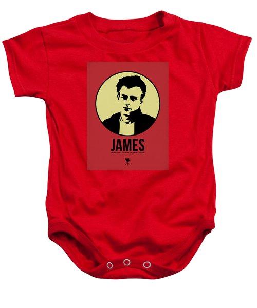 James Poster 2 Baby Onesie by Naxart Studio