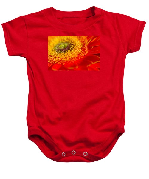 Landscape Of A Flower Baby Onesie