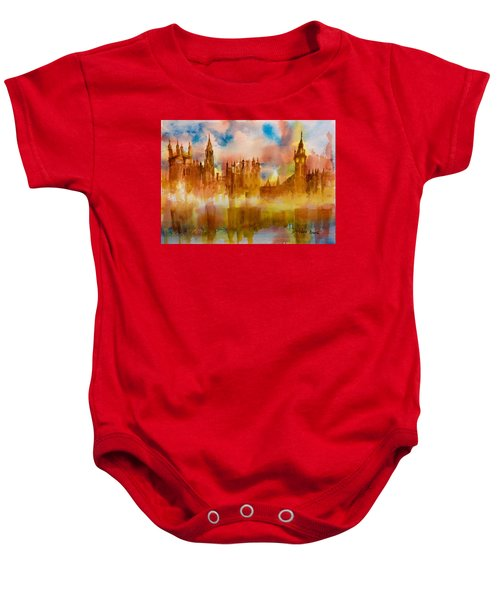 London Rising Baby Onesie