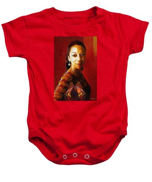 Madame Exotic Baby Onesie