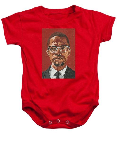 Malcolm X Baby Onesie