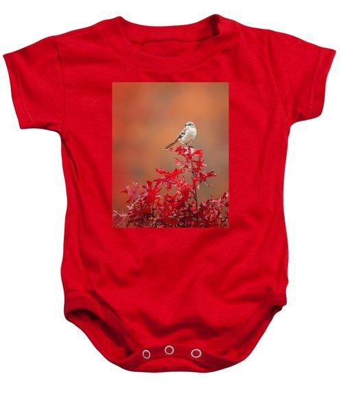 Mockingbird Autumn Baby Onesie by Bill Wakeley