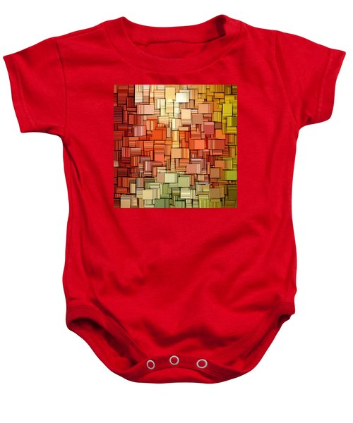 Modern Abstract Viii Baby Onesie by Lourry Legarde