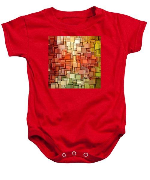 Modern Abstract Viii Baby Onesie