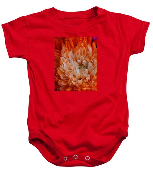Mum On Fire Baby Onesie