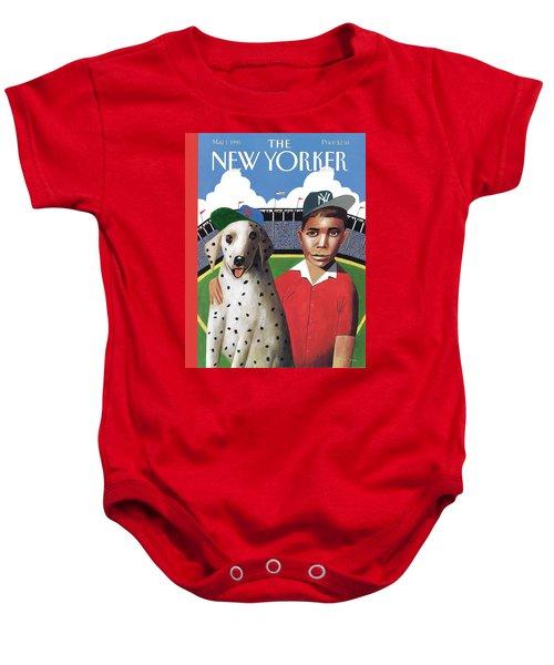 New Yorker May 1st, 1995 Baby Onesie