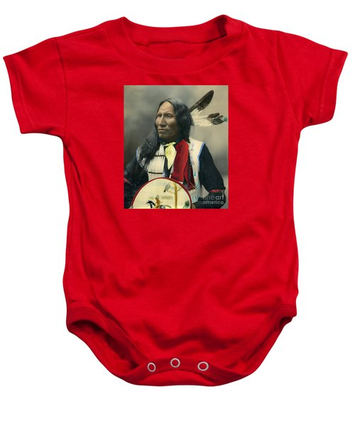 Oglala Chief Strikes With Nose 1899 Baby Onesie