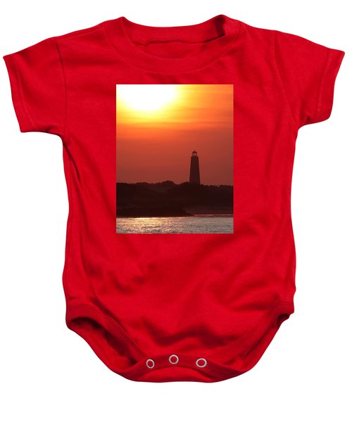 Old Cape Henry Lighthouse  Baby Onesie