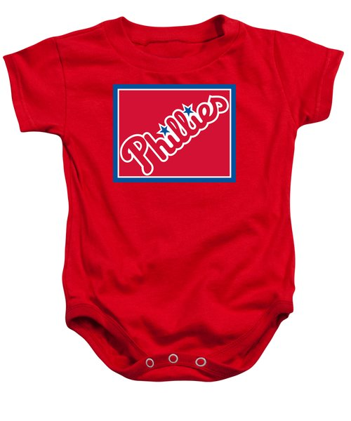 Philadelphia Phillies Baseball Baby Onesie
