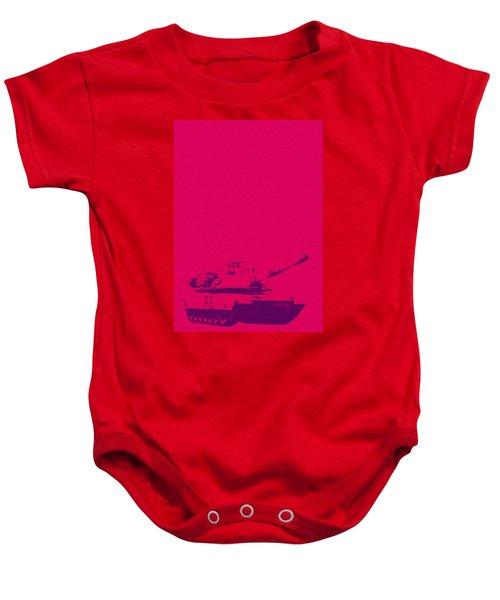 Pink Tank Baby Onesie