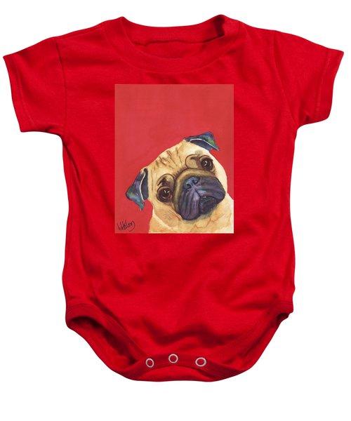 Pug 2 Baby Onesie