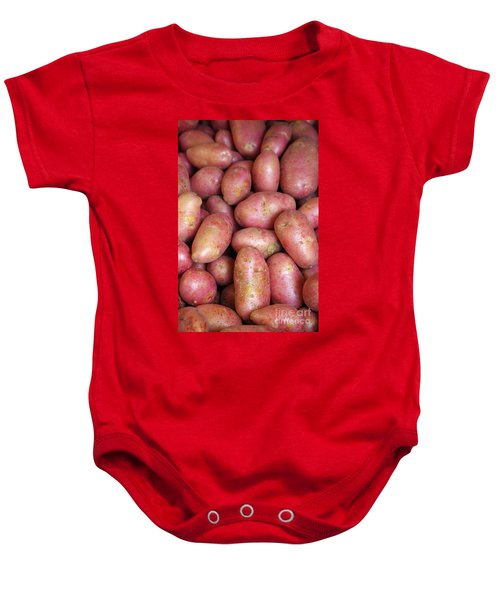 Red Potatoes Baby Onesie